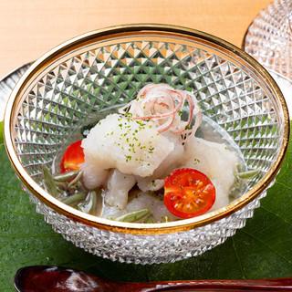 四季を生き生きと表現した、五感で楽しむ日本料理