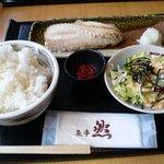 1178333 - あこう鯛の粕漬け定食