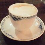 武蔵野珈琲店 - ウィンナコーヒー、ロイヤルコペンハーゲンのカップで