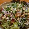 鳥元 - 料理写真:蒸し鶏サラダ