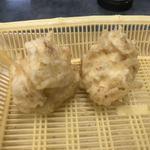 だるまの天ぷら定食 - カリフラワー