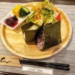 和食カフェ えん - モーニングセット(コーヒー付) 600円