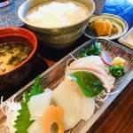 きくよ食堂 - 『イカソーメン定食』 税抜1,150円