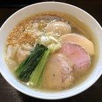 らぁ麺 すぎ本 - 「塩 特製らぁ麺」1100円