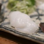 海の日  - 熟成魚の刺身 アオリイカ☆