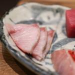 海の日  - 熟成魚の刺身 ブリ☆