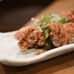 海の日  - 地鶏の唐揚げ黒酢風味☆