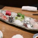 海の日  - 熟成魚の刺身☆