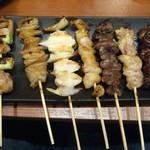 117819309 - もちろん串は食べたい。
