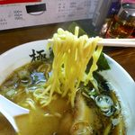 ラーメン堂 極 - きわみちゃん 黒 太麺