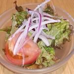 Namiki wain dain - セットのサラダ