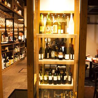 地産地消の食材を使った料理によく合う、福岡の地酒
