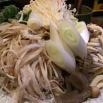 甲州屋 - 野菜(ごぼうのささがきが多い)