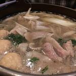 甲州屋 - カモ鍋