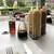 ムーンカフェ - 料理写真:食事を注文すると用意される調味料類
