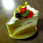 11783911 - ローズレアチーズケーキ(350円)