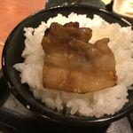 むちゃく - 肉をオンザライス