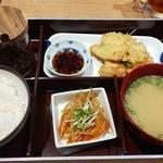 Hakatanyukomatsu - 大分名物 鶏天ランチ