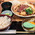 馬舌屋 - 桜肉すき焼き定食(大盛) 950円(大盛=同価格)