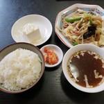 泉州 - 料理写真:日替りランチ2019.10.18