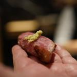 初音鮨 - 大トロ漬け炙り