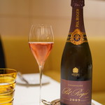 117836546 - 乾杯のシャンパンは「ポルロジェ:ロゼ」