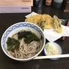 Sobatoshi - 料理写真:天ぷらそば(冷)850円
