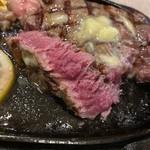 ステーキハウス 88 - ←の焼き方ミディアム