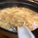 あすなろ食堂 - スープ割後