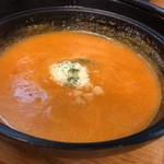 あすなろ食堂 - 料理写真:トマトつけ麺〈つけ汁〉
