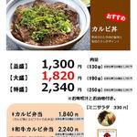 T.Bone - カルビ丼