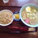 しらかば茶屋 - ラーメンセット(塩)