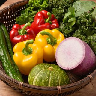 【とにかく野菜にこだわる!!】