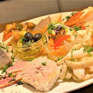☆大人気【選べる前菜盛り合わせ】☆全11種からお選び下さい