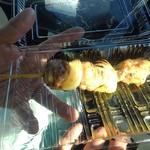 くいしんぼう - 料理写真:焼き鳥¥140