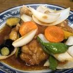 ちとせ食堂 - 酢鶏