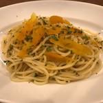 スパゲッティ カラスミのペペロンチーノ