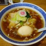 スミレ食堂 - 料理写真:味玉中華そば(並) 880円