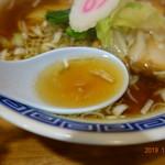 スミレ食堂 - 煮干系のスープ