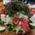 タカマル鮮魚店 - 料理写真:海ぶどうたっぷりのサラダ