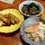 鮨処いちい - 料理写真:穴子の煮こごり、なまこ酢、毛がに味噌和え