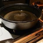 117860413 - すき焼き野菜の鍋