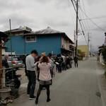 安田屋 - 開店前行列