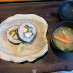 117862926 - 【たらば蟹太巻寿司】♫【蟹汁】◎2019/10
