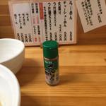 117865239 - ラーメンに山椒をかけて食ったのは初めてだ!                       うまい!