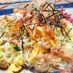 オーガニックキッチンFarve - 小豆島の手延べそうめんを使ってます