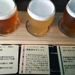 FOOD HALL BLAST! TOKYO - 3種のビールのみくらべ