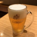 玉乃光酒蔵 - 生ビール