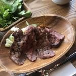 ペレニアルロックガーデン春子谷地 cafe ミルクの里 - 厚切り牛タン