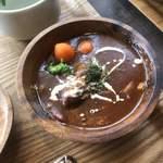 ペレニアルロックガーデン春子谷地 cafe ミルクの里 - 牛タンシチュー